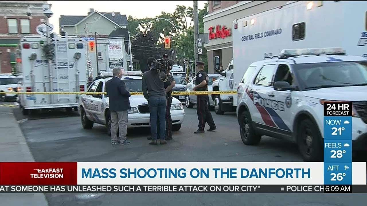 Mass shooting on the Danforth