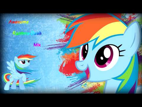 Awesome Rainbow Dash Mix HD