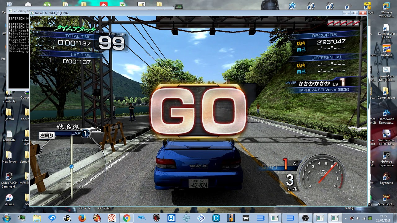 TEKNOPARROT 1 80 - INITIAL D 7 AA - TIME ATTACK 1 2018 1080p 60fps