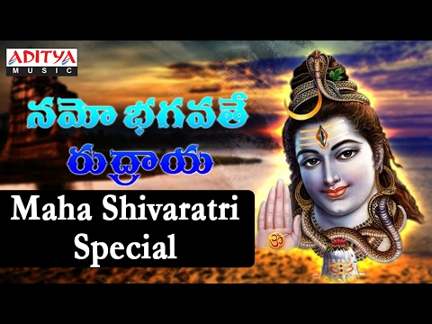 Popular Namo Bhagavathe Rudraya | Maha Shivaratri Special | Telugu Devotional Jukebox
