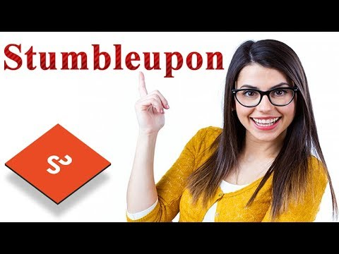 How to create an account on stumbleupon