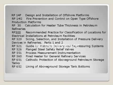GENERAL CODE AND STANDARDS FOR OIL AND GAS CONSTRUCTION FIELD