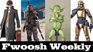 Weekly! Ep101: Star Wars, Venom Snake, Fantastic Beasts, Captain Marvel, DBZ, Goblins and more!