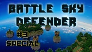 Minecraft | Battle Sky Defender Spécial 500 Abonnés | Remix de la Terre du Cube