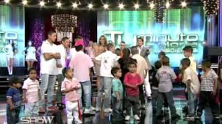 Los Wachiturros se emocionaron en Sábado show