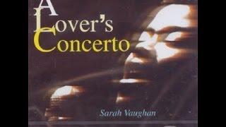 Sarah Vaughan: A Lover