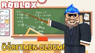 OKULDA ÖĞRETMENLİĞİMİN İLK GÜNÜ ! Roblox Robloxian HighSchool Roleplay / Roblox Türkçe