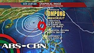 ANC: 'Weaker' Ompong exits Luzon