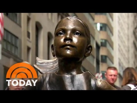 'Fearless Girl' Violates My Rights, Claims Wall Street 'Charging Bull' Sculptor | TODAY