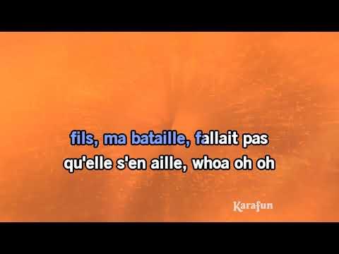 Karaoké Mon fils, ma bataille - Daniel Balavoine *