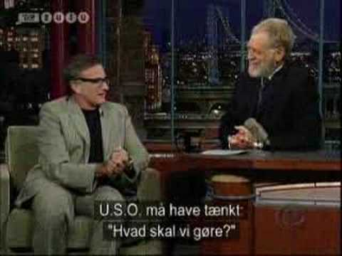 Late Show: Robin Williams