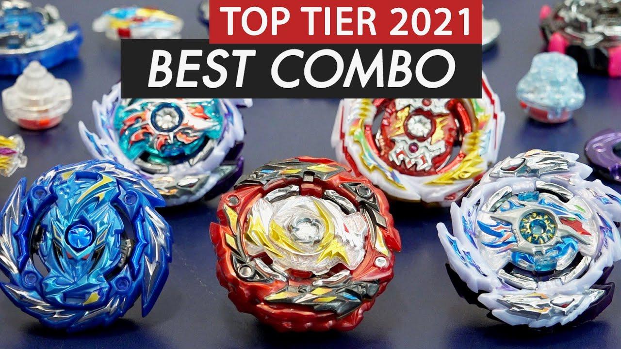Top 5 BEST Beyblade Burst Combos of 2021 | STRONGEST Beyblade Burst Sparking & GT Parts