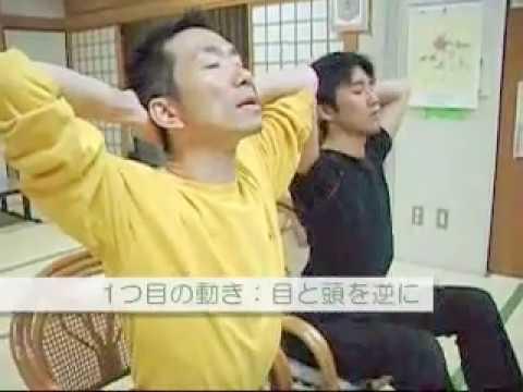 ニューストレッチ⑥(あべこべ体操) 30秒で首がほぐれてしなやかになる