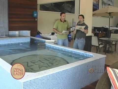 Especial piscinas espa o zen lazer no programa forma for Modelos de piscinas modernas