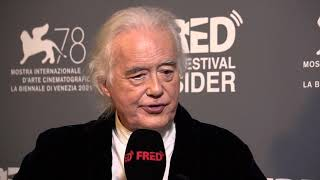 Jimmy Page, Allison McGourty - BECOMING LED ZEPPELIN - 78th Venice Film Festival