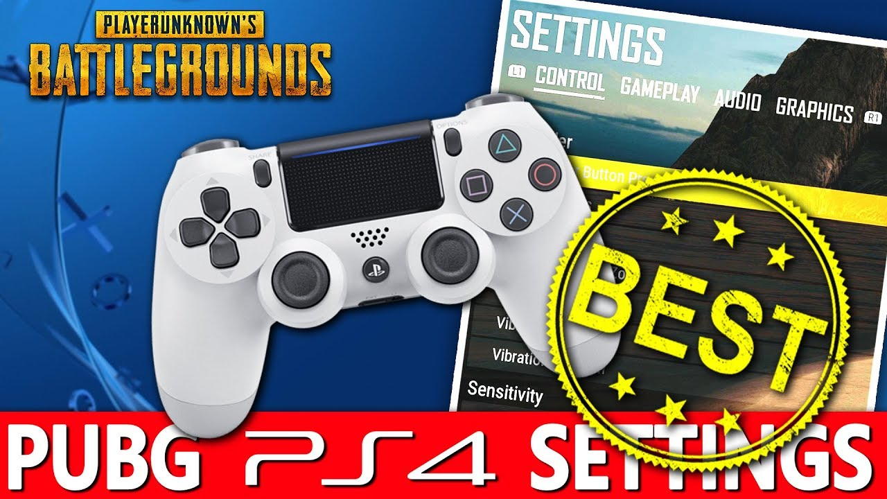 Pubg Ps4 Best Settings I Won My Very First Round With These Sensitivity Settings