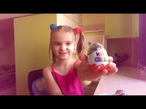 КИНДЕР СЮРПРИЗ Кунг Фу Панда 3 игрушки Surprise Eggs - Распаковка. Видео для детей