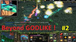 DotA 6.83d - Puck Beyond GODLIKE ! #2