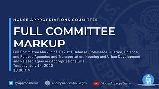 FY21 Defense, Commerce, Justice, Science & Transportation-HUD Appropriations Bills (EventID=110880)