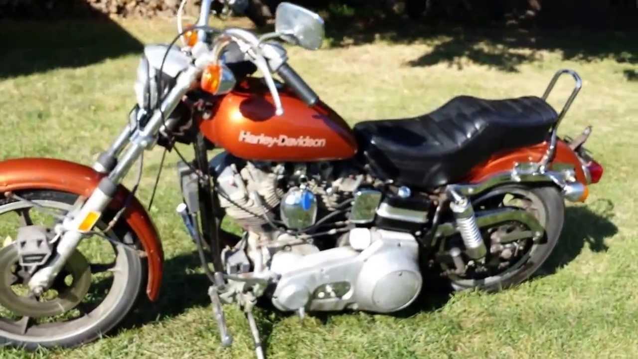 1976 Harley Davidson FXE 1200 SUPERGLIDE Shovelhead for sale