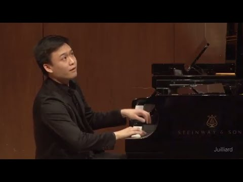 Kevin Ahfat, piano | Juilliard Robert Levin Piano Master Class