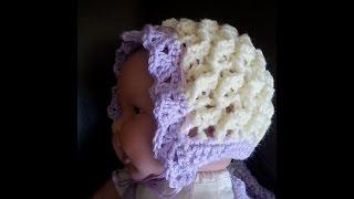 Crochet Precious Angel Bonnet Set Diy Tutorial