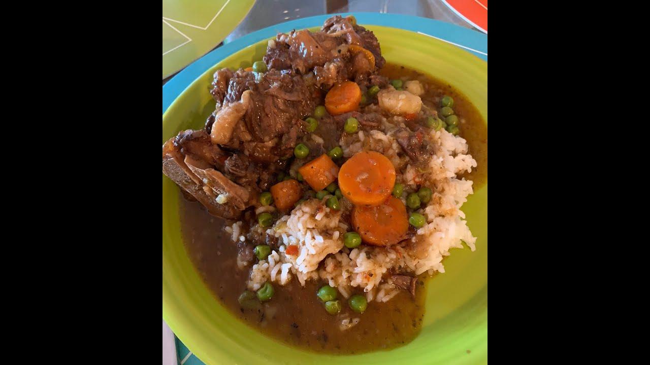 cajun oxtail stew  instant pot  youtube