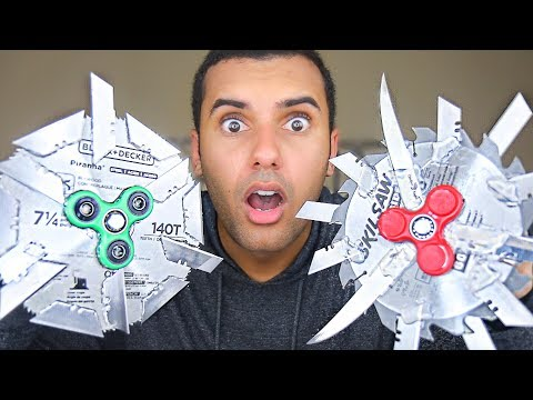 MOST DANGEROUS TOY OF ALL TIME 2.0!! (EXTREME FIDGET SPINNER EDITION!!) *INSANELY DANGEROUS*