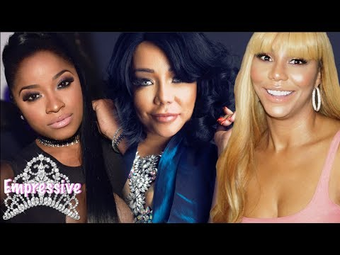 Tamar Braxton ends feud with Tiny...but Toya Wright and Reginae Carter drag Tamar!