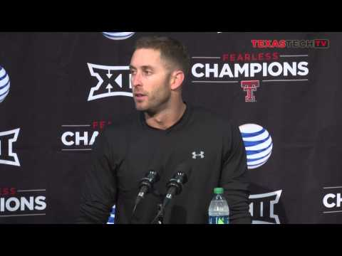 FB: Kliff Kingsbury West Virginia Post Game