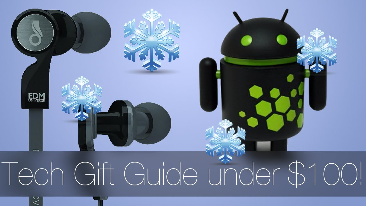 best christmas tech gifts under $100 (tech gift guide 2013) - youtube
