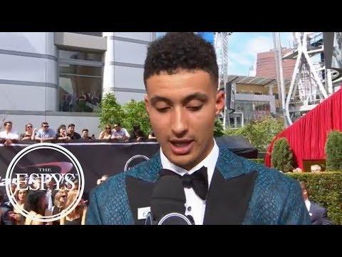 Kyle Kuzma says young Lakers will energize LeBron James | 2018 ESPYS Red Carpet | ESPN