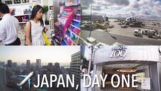 Japan 2015 | Day One | Exploring Tokyo
