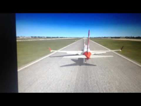 Fsx airberlin arrival in to Tegal