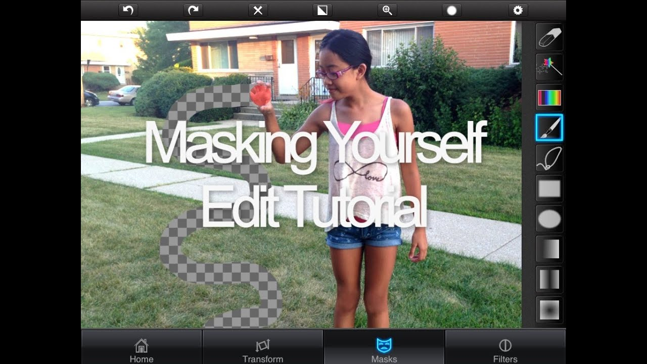 how to get masks on superimpose