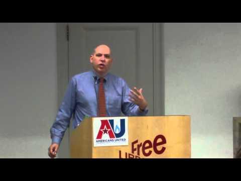 "Jonathan Engle, ""Engle vs Vitale"" (school prayer case) DVAU Philadelphia November 8, 2015"