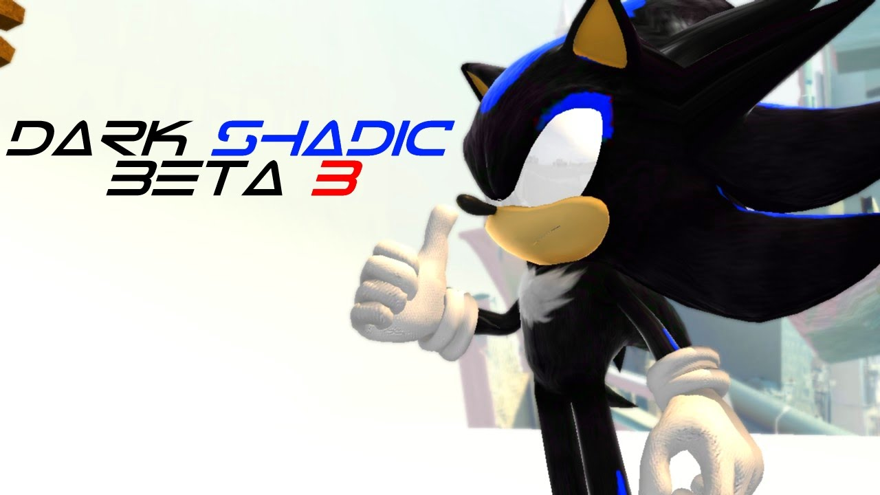 Sonic Generations Dark Shadic Beta 3 - YouTube