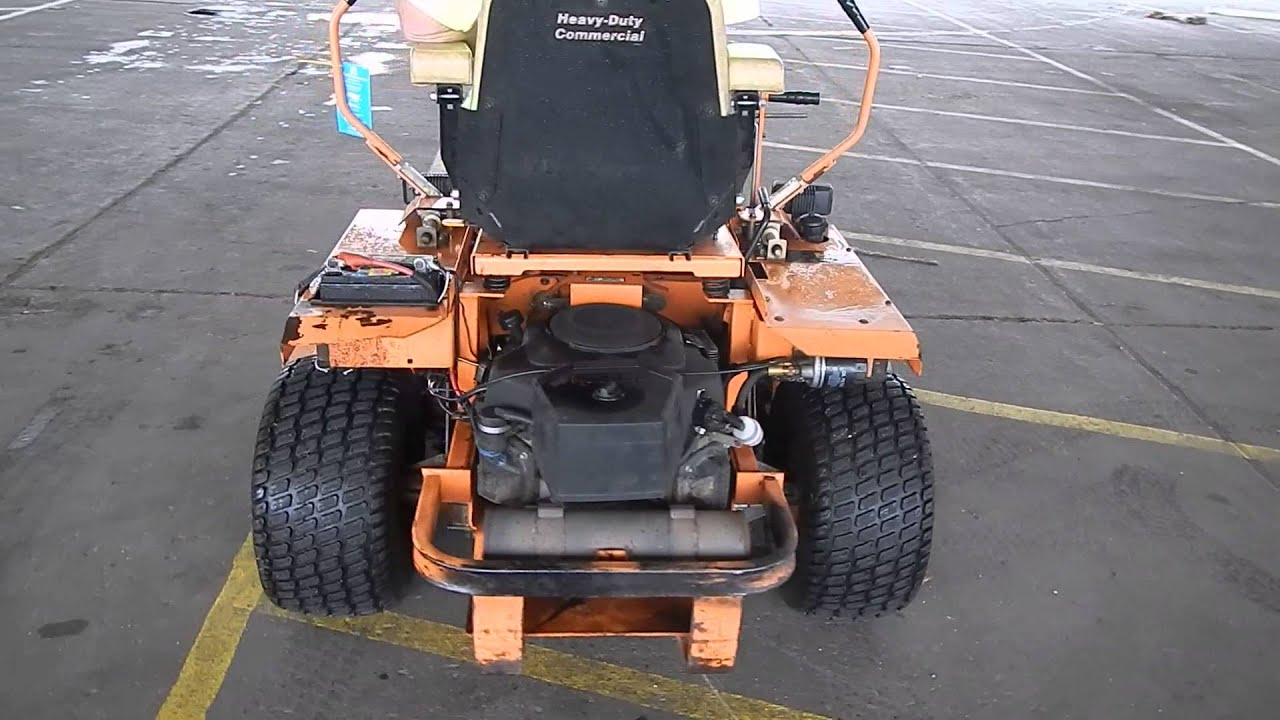 Scag Super Z Zero Turn Riding Lawn Mower Youtube