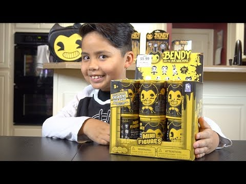 *NEW* Bendy And The Ink Machine Bacon Soup Minifigures!! ***GIVEAWAY ENDED***
