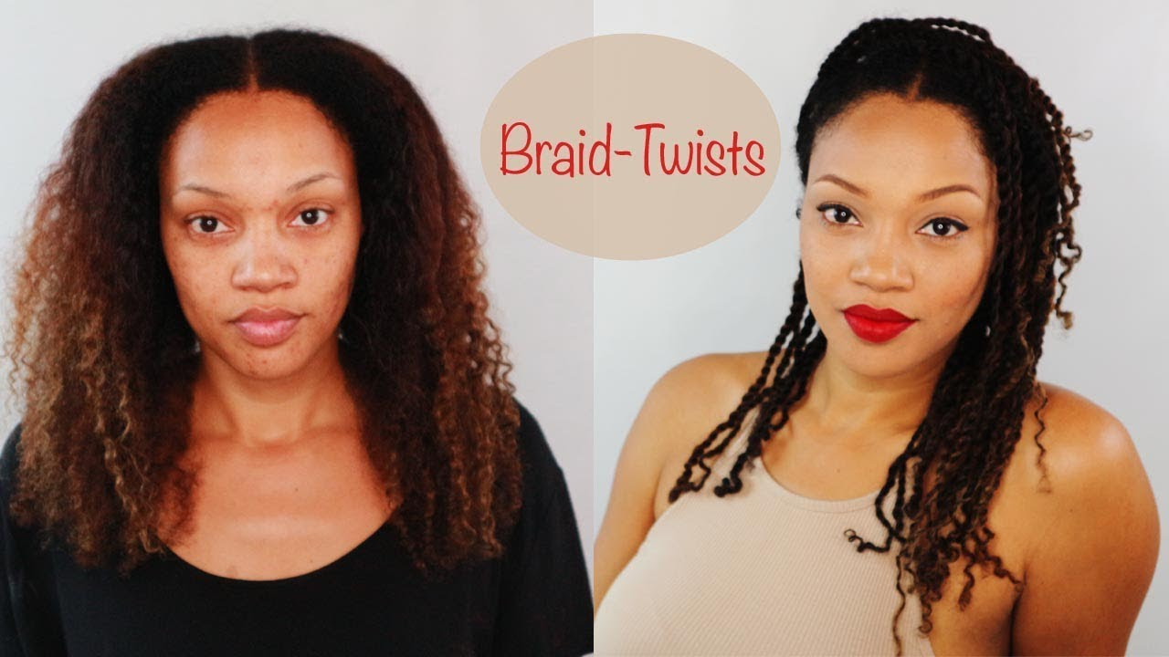 BRAID TWISTS   Best Protective Styles For Natural Hair ...