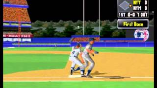 Playstation - High Heat - Major League Baseball 2002  .flv