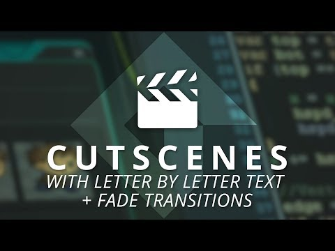 GameMaker Studio 2: Cutscenes With Text + Transitions