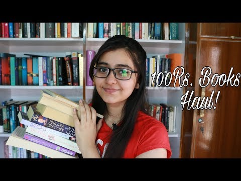 10 Books For 100Rs Each! My Second-Hand Book Haul!