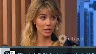 El novio de Cinthia Fernández me salvó la vida