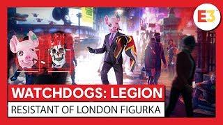 """WATCH DOGS®: LEGION – figurka """"Resistant of London"""" – zwiastun ujawniający"""