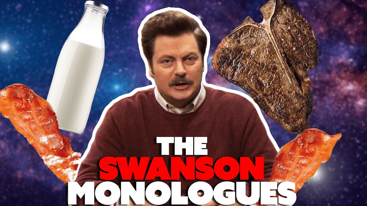 The Swanson Monologues: Ron Swanson Talking to Camera for 10 Minutes Straight | Parks & Recreation