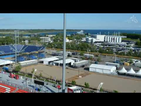 PanAm Games 2015 - Construction Timelapse Beach Volleyball