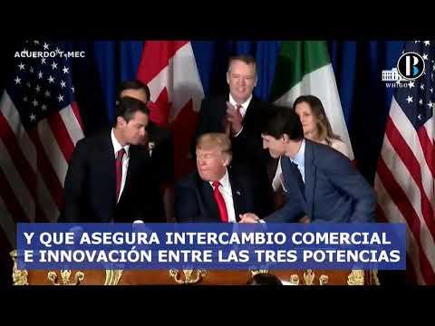EEUU, México y Canadá firman nuevo tratado comercial