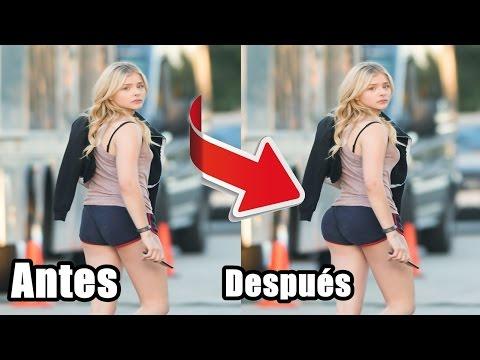 10 Famosas que ABUSARON del Photoshop (antes y después)