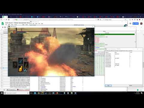 How To Make Custom Weapon Arts In Dark Souls 3 Using Cheat Engine - DKS3 Spells Hack Mod Tutorial